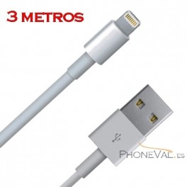 Cable largo iPhone 5 y ipad 3