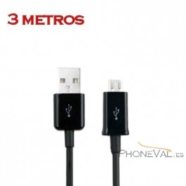 Cable largo Micro USB